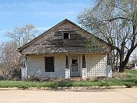 USA - Texola OK - Abandoned House (20 Apr 2009)